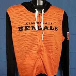 BENGALS  Mesh jacket